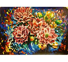 Flower Party Photographic Print