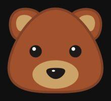 Cute Bear One Piece - Short Sleeve