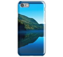 Gorilla Creek in the mist iPhone Case/Skin