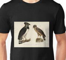 Bilder atlas zur Wissenschaftlich populären Naturgeschichte der Vögel in ihren sämmtlichen Hauptformen Leopold Joseph Fitzinger 1864 015 Unisex T-Shirt