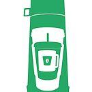 Coffee Stacker - Green by bortwein