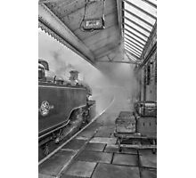 The Train Now Leaving ... Photographic Print