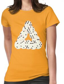 optical illusion Womens Fitted T-Shirt