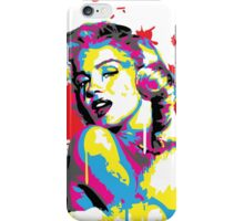 Marilyn Monroe Pop Art by the COLORBLiND ARTiST  iPhone Case/Skin