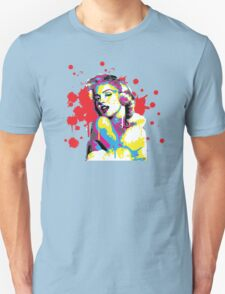 Marilyn Monroe Pop Art by the COLORBLiND ARTiST  T-Shirt