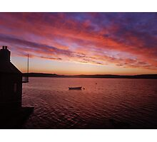 Scottish Sunset Photographic Print