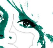 Brigitte Bardot 1960's face Sticker