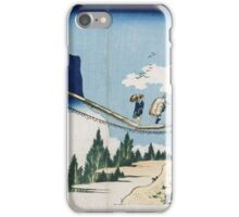 Vintage famous art -  Japanese Landscape iPhone Case/Skin