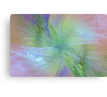 Mystic Warmth Abstract Fractal Canvas Print
