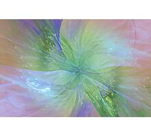 Mystic Warmth Abstract Fractal Photographic Print