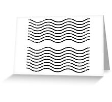 Post office waves Greeting Card