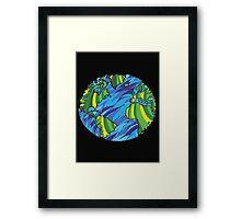 Earth, Planet Earth, Green Planet Framed Print