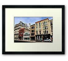 Downtown Milwaukee Framed Print