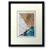 Cycle of Paper Framed Print