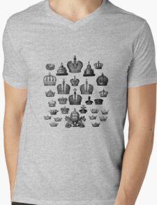 100 Black Crowns Mens V-Neck T-Shirt
