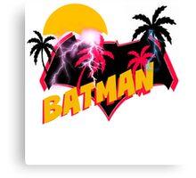 Super 80s Ben Affleck SodaPop Logo Canvas Print