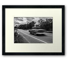 Moving Truck Framed Print
