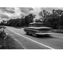 Moving Truck Photographic Print