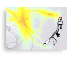 Abstract Android Canvas Print