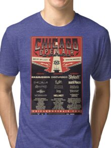 Chicago Open Air Music Festival 1 Tri-blend T-Shirt