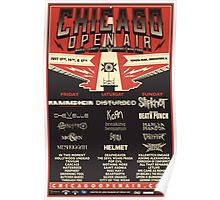 Chicago Open Air Music Festival 1 Poster