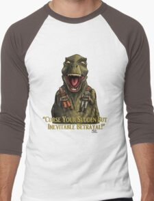 "Firefly: ""Curse your sudden but inevitable betrayal!"" Men's Baseball ¾ T-Shirt"