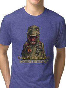 "Firefly: ""Curse your sudden but inevitable betrayal!"" Tri-blend T-Shirt"