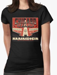 Chicago Open Air Music Festival 2 Womens Fitted T-Shirt