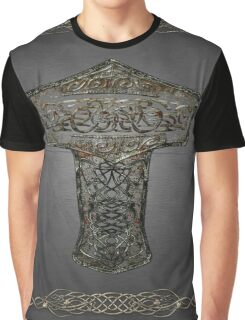 Celtic Wood Hammer Thor Graphic T-Shirt