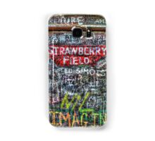 Strawberry Fields Forever Samsung Galaxy Case/Skin