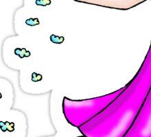 Cloud seeding Sticker
