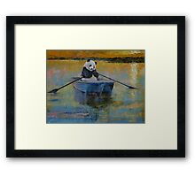 Panda Reflections Framed Print
