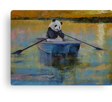 Panda Reflections Canvas Print
