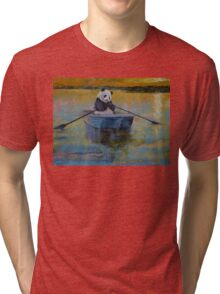 Panda Reflections Tri-blend T-Shirt