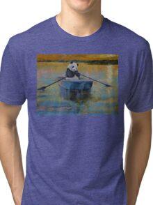 Panda Reflections Tri-blend T-Shirt