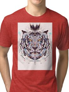 geometric colorful art Tri-blend T-Shirt