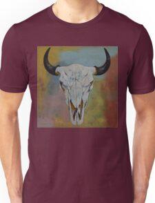 Bison Skull Unisex T-Shirt