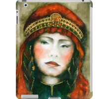 Portrait of nomad woman iPad Case/Skin