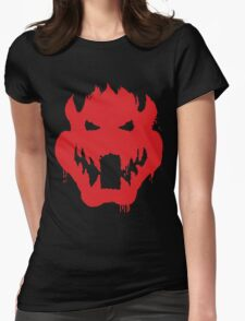 The ghost of plumber Womens Fitted T-Shirt