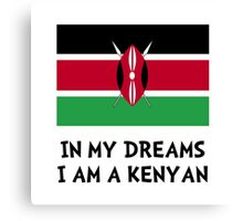 Dream Kenyan Canvas Print