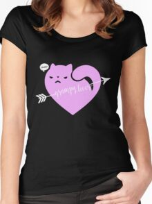 GRUMPY LOVER Women's Fitted Scoop T-Shirt