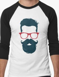 Cool Hipster Men's Baseball ¾ T-Shirt