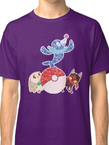 Sun and Moon starters Classic T-Shirt