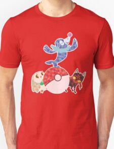Sun and Moon starters Unisex T-Shirt