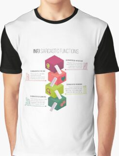 INFJ Sarcastic Functions Graphic T-Shirt