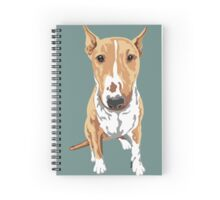 Aria The Bull Terrier Spiral Notebook