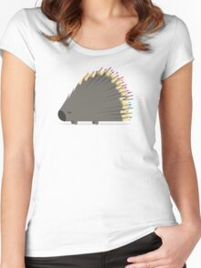 Porcupencil Women's Fitted Scoop T-Shirt