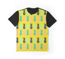 Me Loves Bright Pineapple  Graphic T-Shirt