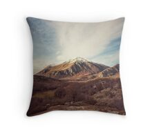 Mountains in the background XVII Throw Pillow