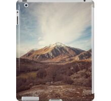Mountains in the background XVII iPad Case/Skin